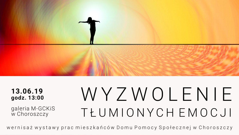 """""""Wyzwolenie tłumionych emocji"""" – zapraszamy do Choroszczy na wyjątkową wystawę"""
