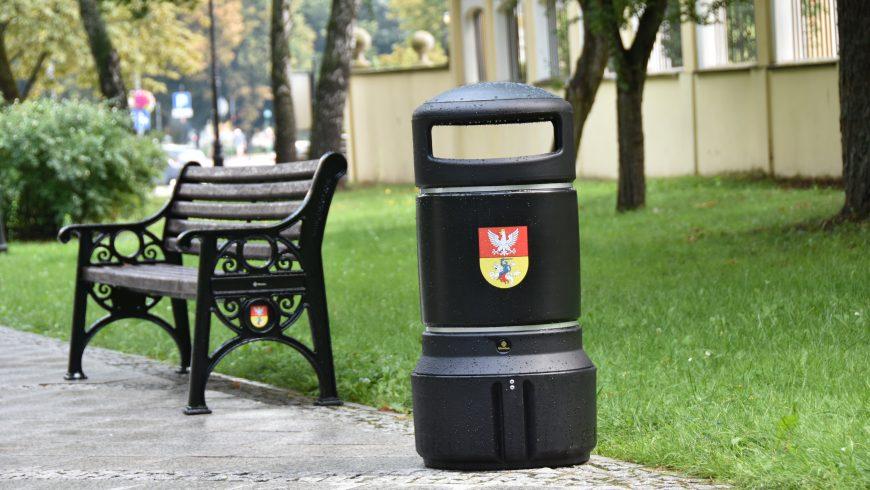 Nowoczesne ławki parkowe w Białymstoku