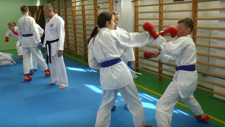 Białostoccy karatecy w Ełku [VIDEO]