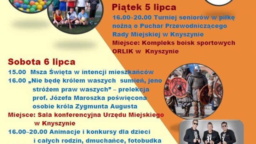 Dni Knyszyna na antenie Twojej Telewizji Regionalnej!