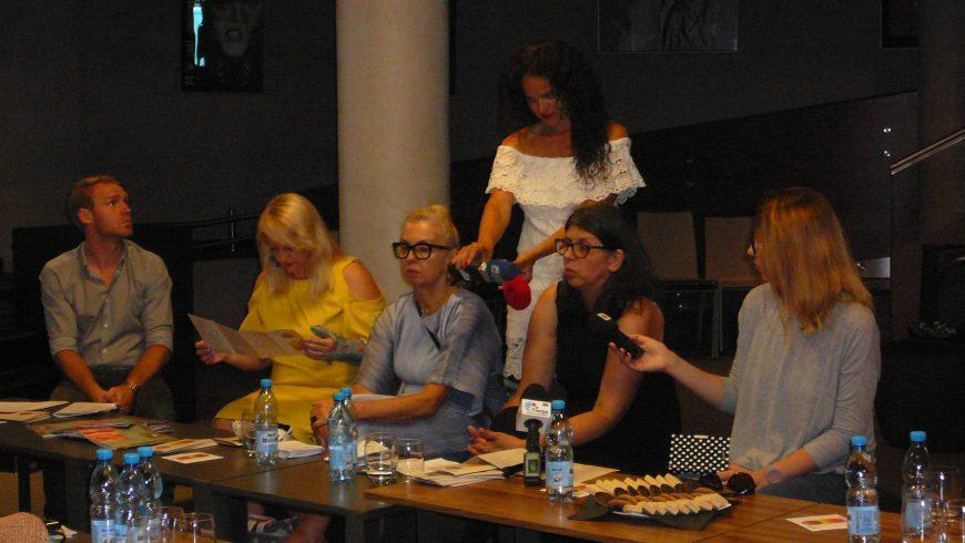 Konferencja prasowa Białostockiego Ośrodka Kultury