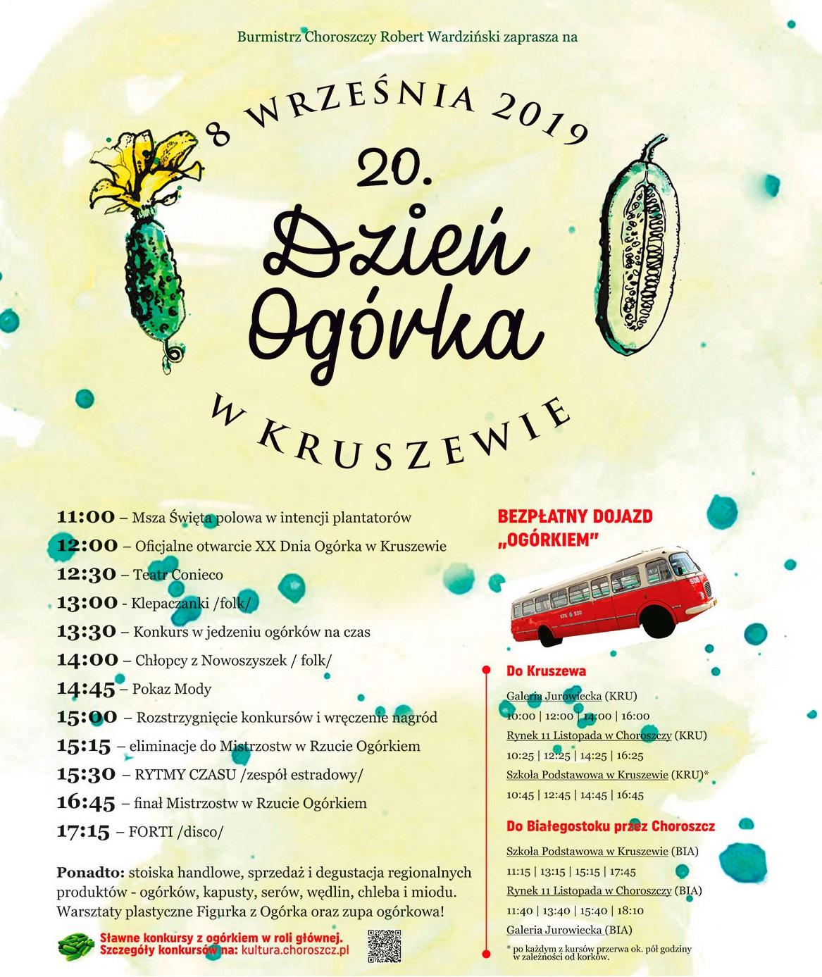 Przed nami XX Dzień Ogórka w Kruszewie!