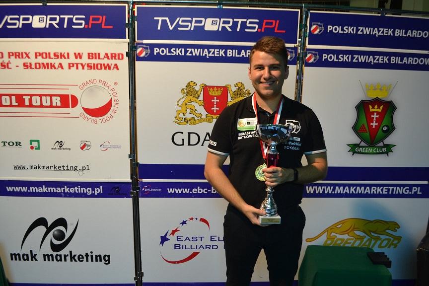 Sebastian Batkowski zwycięża w  Gdańsku i umacnia się na pozycji lidera krajowego rankingu!