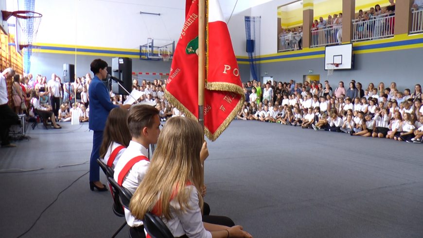 Rozpoczęcie roku szkolnego w SP im. Króla Zygmunta Augusta w Wasilkowie