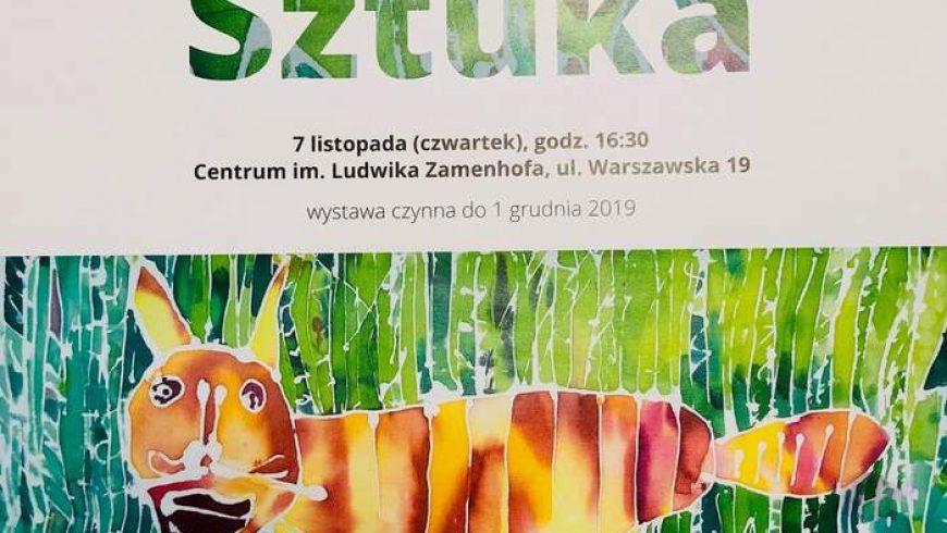 Wystawa w Centrum im. L. Zamenhofa w Białymstoku