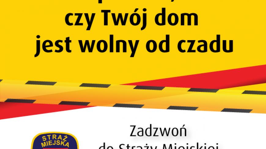 Straż Miejska w Białymstoku w walce z czadem