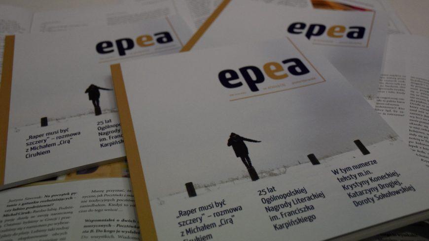 """Ukazał się trzeci numer nieregularnika """"Epea"""""""