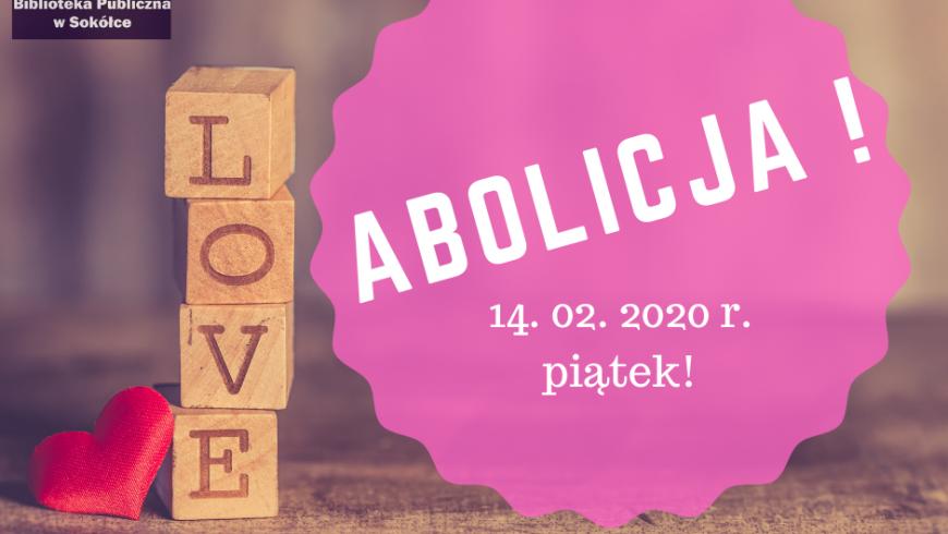 Walentynkowa abolicja w bibliotece w Sokółce