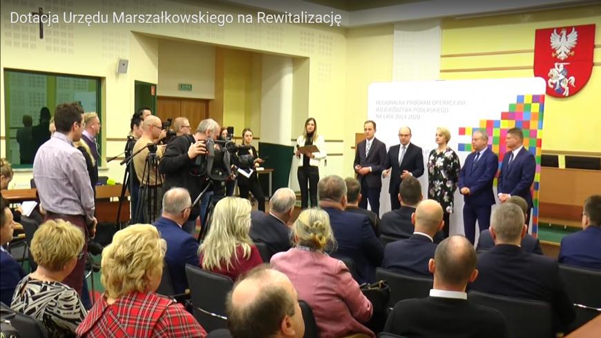 Dotacje Urzędu Marszałkowskiego na rewitalizację