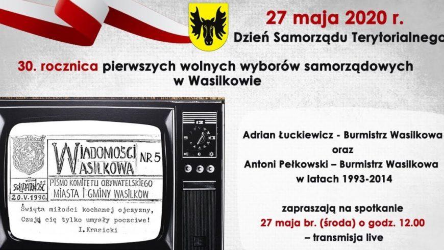 Konferencja Burmistrza Wasilkowa