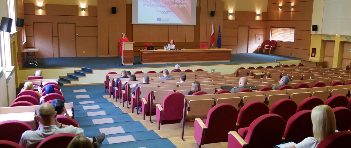 Podsumowanie projektu dotyczącego integracji obywateli państw trzecich w województwie podlaskim