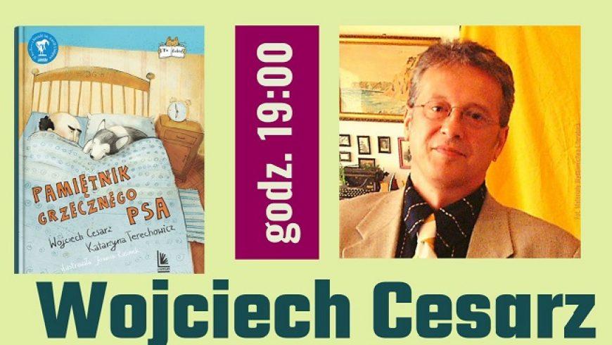 Spotkanie autorskie z Wojciechem Cesarzem