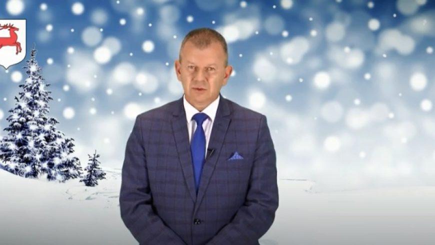 Życzenia Bożonarodzeniowe Burmistrza Zabłudowa Adama Tomanka 2020