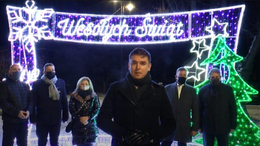 Życzenia Bożonarodzeniowe Burmistrza Wasilkowa Adriana Łuckiewicza