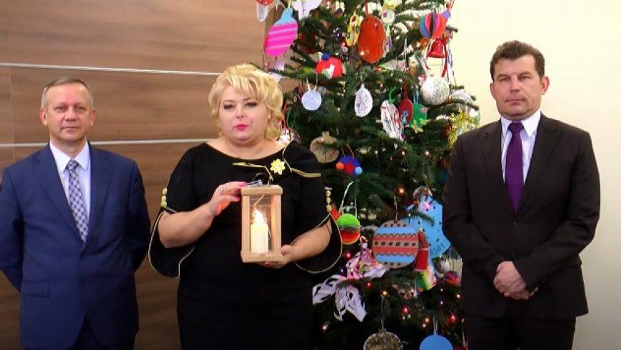 Życzenia Bożonarodzeniowe Burmistrz Sokółki Ewy Kulikowskiej
