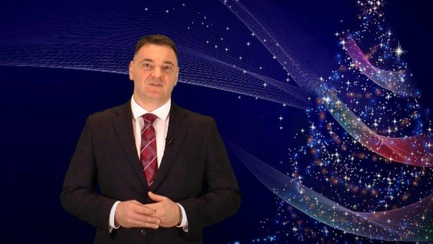 Życzenia Bożonarodzeniowe Burmistrza Siemiatycz Piotra Siniakowicza