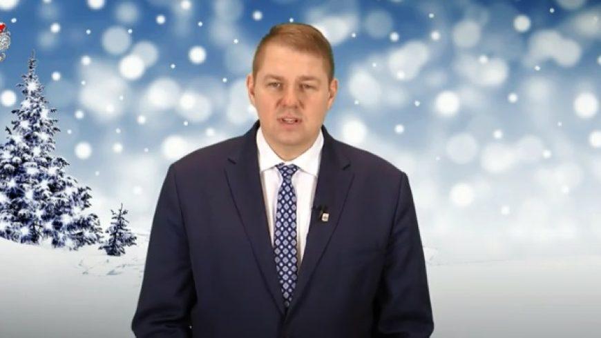 Życzenia Bożonarodzeniowe Wójta Dobrzyniewa Dużego Wojciecha Cybulskiego