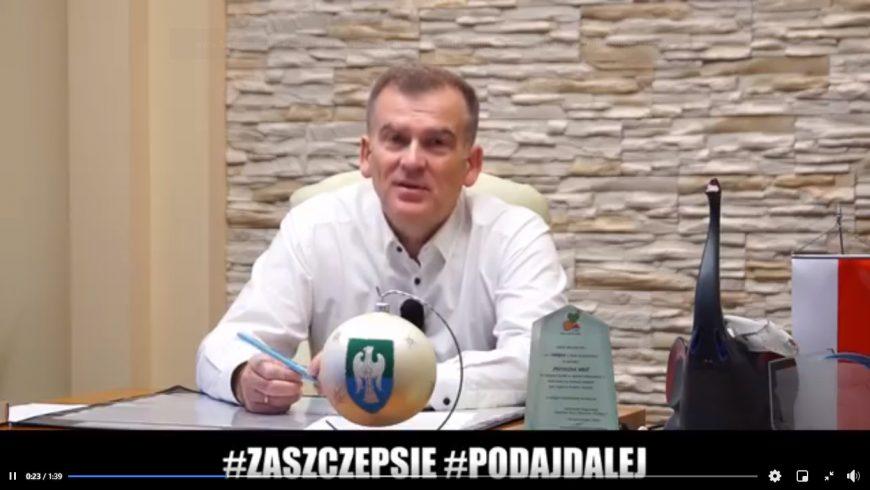 Burmistrz Michałowa namawia do szczepień