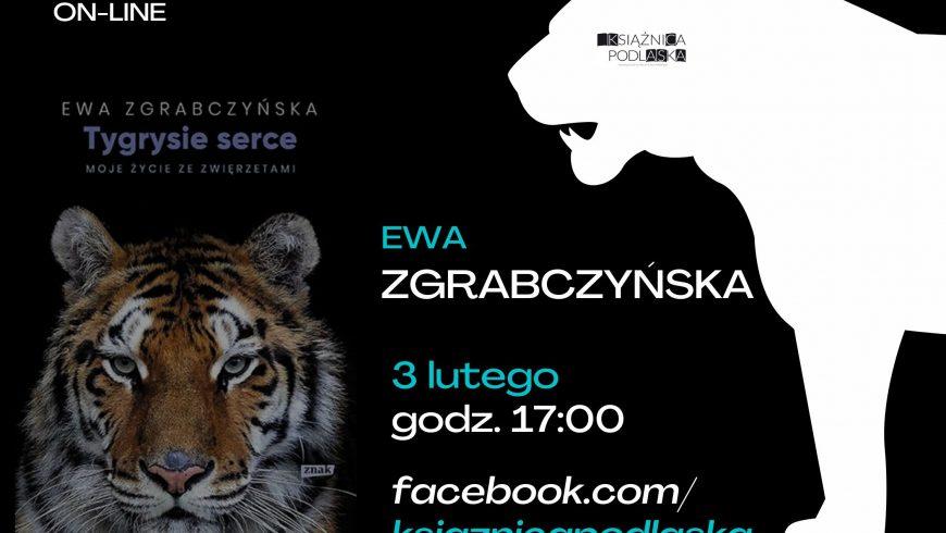 Środa Literacka on-line z Ewą Zgrabczyńską