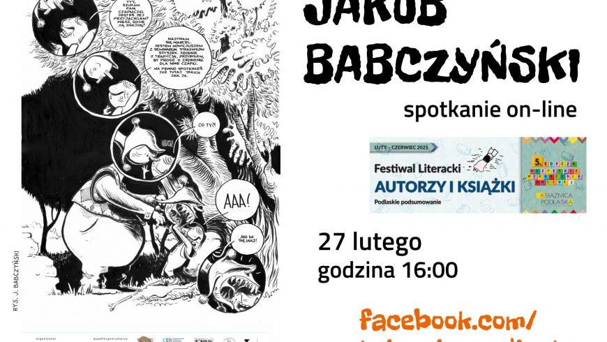 Spotkanie z Jakubem Babczyńskim
