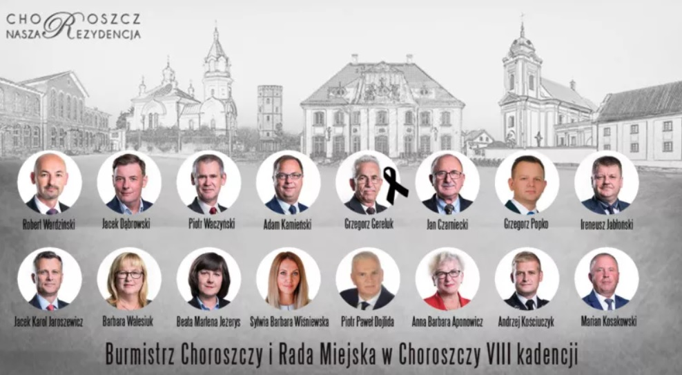 XX Sesja Rady Miejskiej w Choroszczy