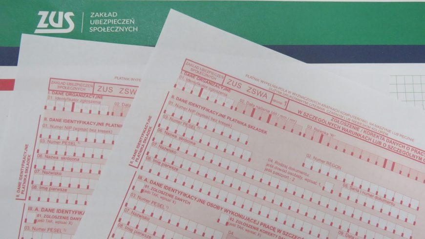 31 marca upływa termin na złożenie dokumentu ZUS ZSWA
