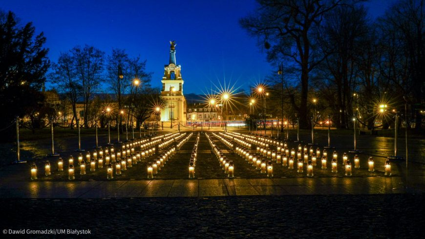 """""""Białystok ofiarom pandemii"""""""