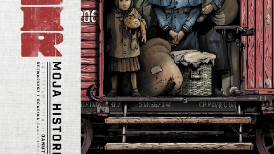 """Premiera komiksu """"Sybir. Moja Historia"""" w 81. rocznicę kwietniowych deportacji z 1940 roku wydanego przez Muzeum Pamięci Sybiru"""